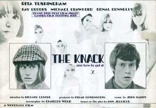 The Knack...and How To Get It 1965 Quad British Poster