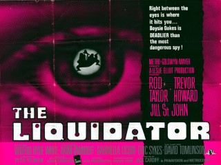The Liquidator 1965 Quad Poster