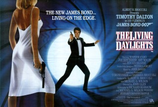 The Living Daylights 1987 Quad Poster
