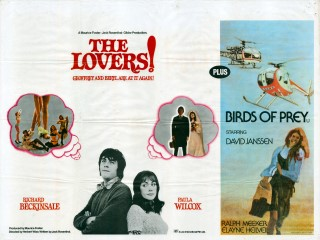 The Lovers 1973 Quad Poster