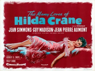 The Many Loves Of Hilda Crane 1956 Quad poster