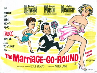 The Marriage-Go-Round 1961 Quad Tom Beauvais