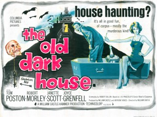 The Old Dark House 1963 Quad British Poster
