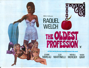 The Oldest Profession 1967 Quad Poster