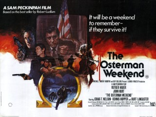 The Osterman Weekend 1983 Quad British Poster