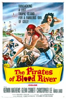 The Pirates of Blood River 1962 1 sheet Poster