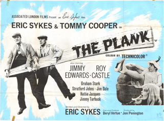 The Plank 1967 Quad UK Poster