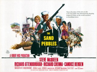 The Sand Pebbles 1966 Quad Poster