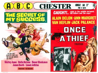 The Secret of My Success 1965 Quad Poster