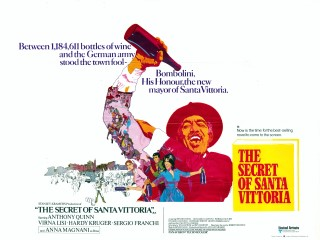 The Secret of Santa Vittoria 1969 Quad Art Bob Peak