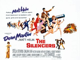 The Silencers 1966 Quad Poster