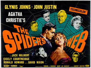 The Spiders Web 1960 UK Quad Poster