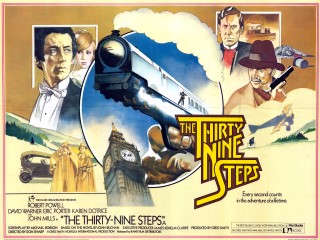 The Thirty Nine Steps 1978 Quad UK Poster