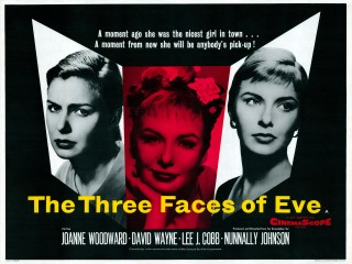 The Three Faces of Eve 1957 Quad Poster