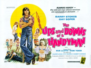 Ups And Downs Of A Handyman 1975 Quad Poster