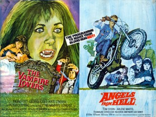 The Vampire Lovers - Angels From Hell 1971 Quad Poster
