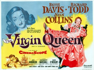 The Virgin Queen 1955 Quad Poster