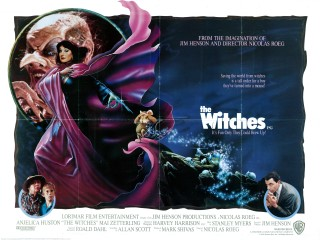 The Witches 1990 British Quad Poster