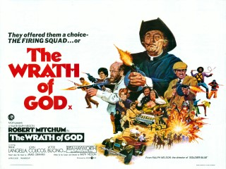 The Wrath of God 1975 Quad Poster