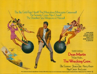 The Wrecking Crew 1969 Quad Poster