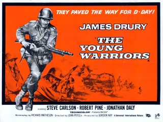 The Young Warriors 1967 Quad Poster