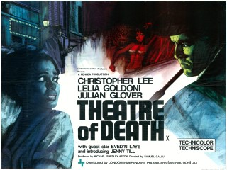 Theatre of Death 1966 Quad Brit poster