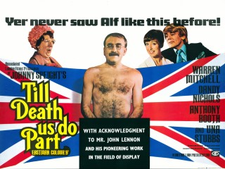 Till Death Us Do Part 1969 Quad Poster