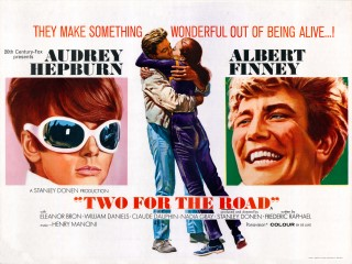 Two For The Road 1967 Quad Poster
