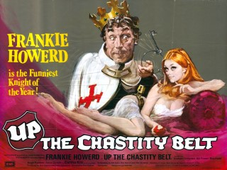 Up The Chastity Belt 1971 Quad Poster