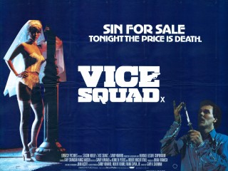 Vice Squad 1982 Quad British Poster