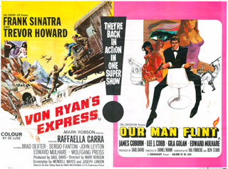 Von Ryan's Express - Our Man Flint Poster Frank McCarthy - Bob Peak