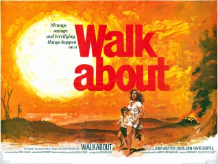 Walkabout 1971 British Quad Poster