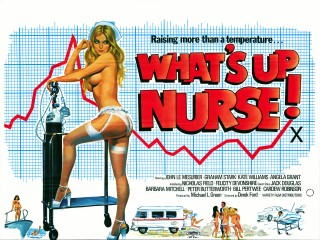 What's Up Nurse? 1977 Quad Poster