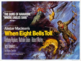 When Eight Bells Toll 1971 Quad Poster
