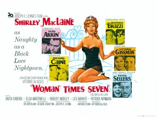 Woman Times Seven 1967 Quad UK Poster
